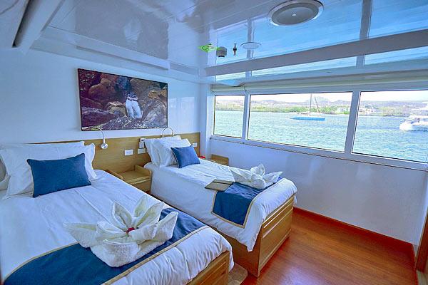 Яхта Calipso: каюта