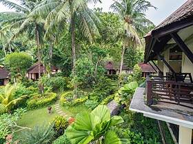 Solitude Lembeh Resort. Garden Villa