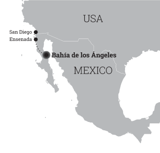 Bahia De Los Angeles Map.Dajving Safari V Meksike Marshrut Bahia De Los Angeles Safari Tur